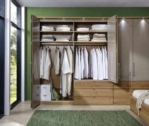 Serena Wardrobe inside furniture