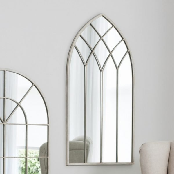 Roebuck arched mirror