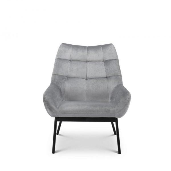 julian bowen grey fabric velvet lucerne chair