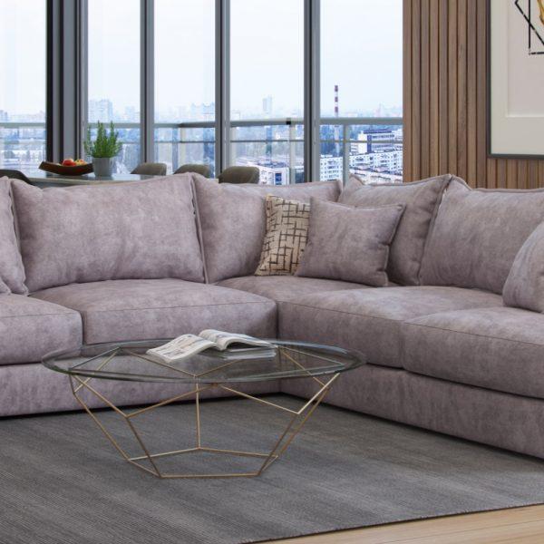 blaise sofa corner back pillow leather